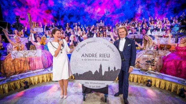 André Rieu verbreekt bezoekersrecord met Vrijthofconcerten