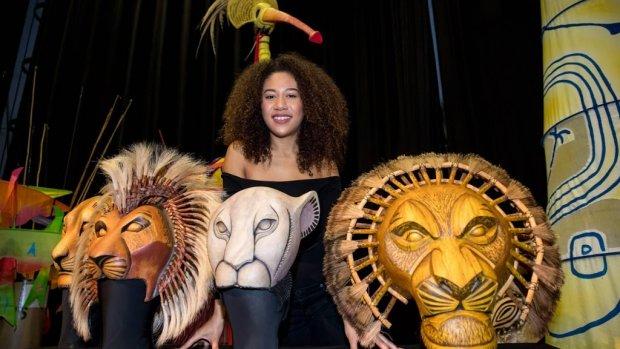 Gaia Aikman verhuist naar musical Lion King in Londen