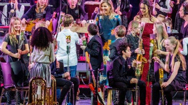 Máxima hoopt op inschrijvingen muzikale show