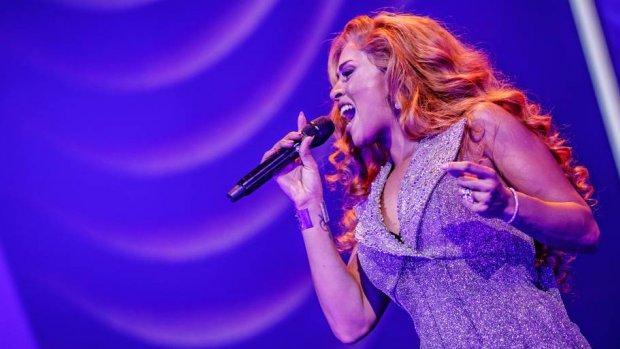 Glennis Grace moest zingen voor het oog van 11 miljoen kijkers