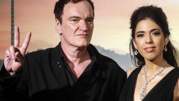 Quentin Tarantino en vrouw verwachten eerste kind