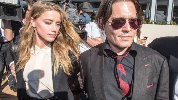 Johnny Depp: 'Ik heb Amber Heard nooit iets fysieks aangedaan'