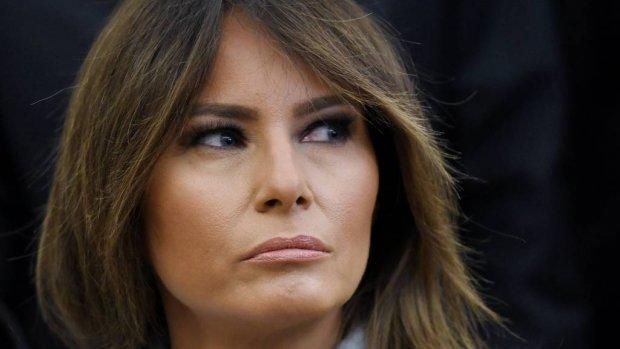 'Melania Trump doodongelukkig in Witte Huis'
