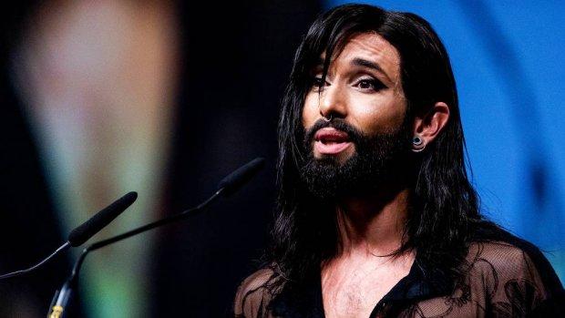Conchita Wurst wil dat er meer wordt gepraat over hiv