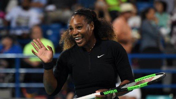 Serena Williams maakt rentree tegen Nederland