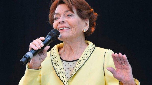 Eerste winnares songfestival overleden