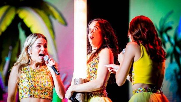 K3 begonnen aan jubileumtour in Nederland