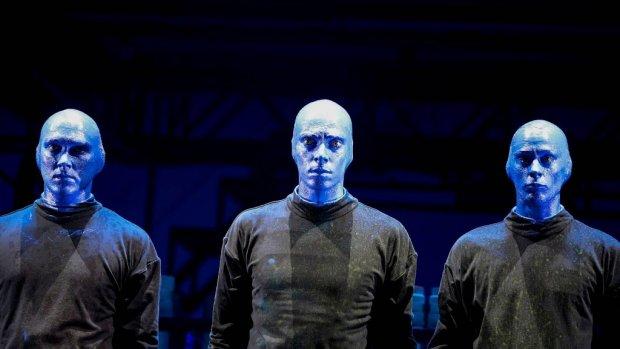 Blue Man Group komt naar Nederland