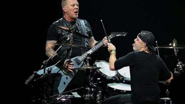 Metallica op tournee door Noord-Amerika