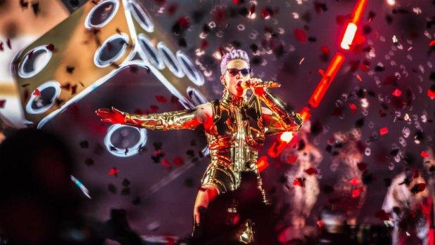 Katy Perry zet Ziggo Dome in vuur en vlam