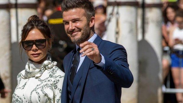 David en Victoria vieren vakantie op superjacht met Elton John