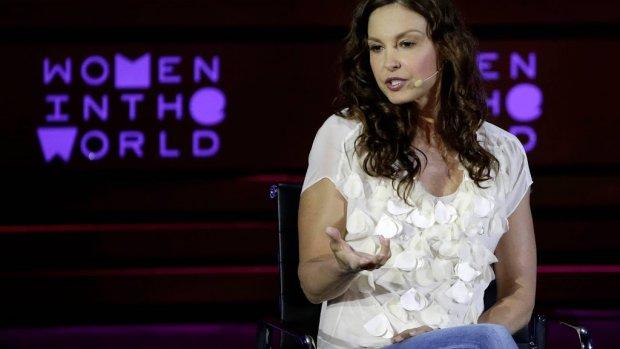 Ashley Judd heeft geen geld aangenomen van Harvey Weinstein