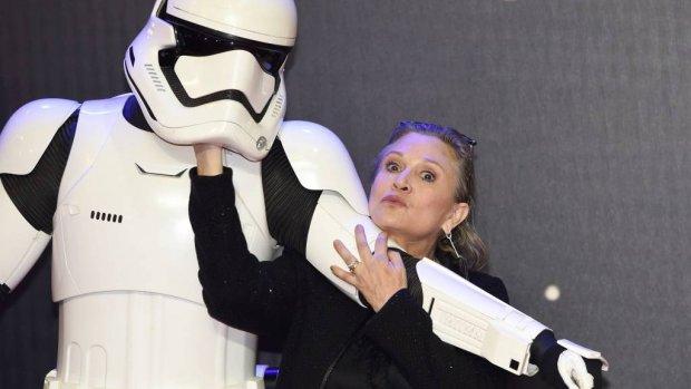 Carrie Fisher krijgt postuum een Grammy