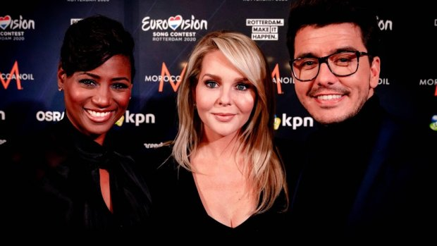 Chantal, Edsilia en Jan trots op songfestivaldebuut