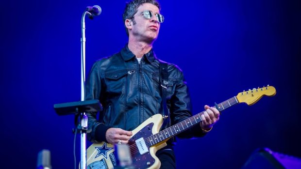 Noel Gallagher, Ilse DeLange op Concert at Sea