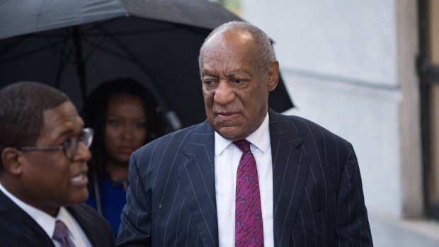 Bill Cosby beklad op Hollywood sterrenboulevard