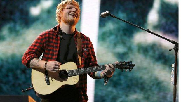 Ed Sheeran sleept nog een Grammy in de wacht