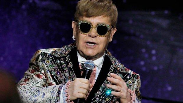 Elton John houdt prinses Diana lezing