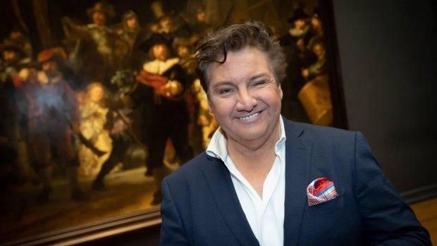René Froger ontvangt Andreaspenning voor inzet als ambassadeur