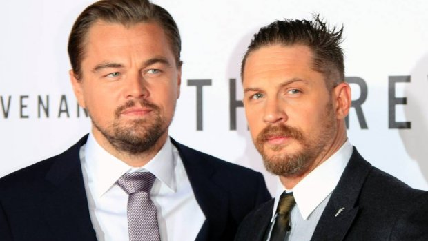 Tom Hardy heeft tattoo Leonardo DiCaprio laten zetten
