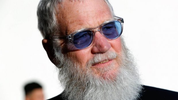 David Letterman in de ban van Kanye West en Kim Kardashian