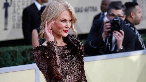 Nicole Kidman niet bang uitgevallen