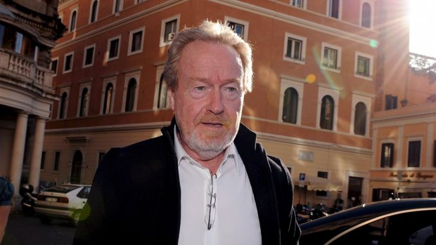 Ridley Scott legt metro dagen plat om opnames