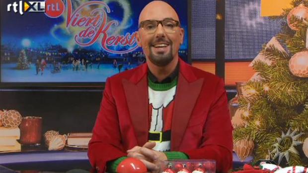 Video: Maik de Boer speelt voor kerstman