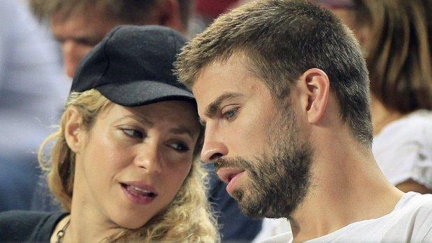 Shakira laat zoontje zien