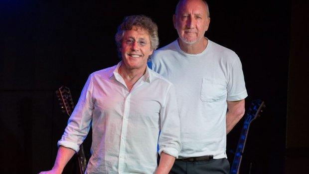 The Who onderbreekt show wegens wietdampen