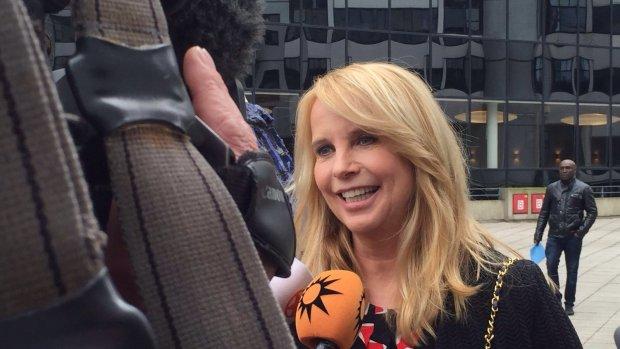Linda de Mol vindt getuigenverhoor 'geen probleem'