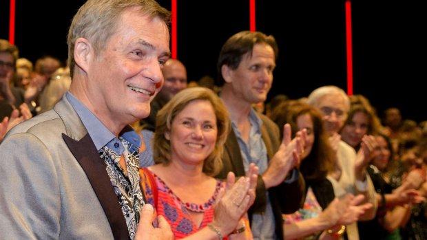 Herman Finkers krijgt eerbetoon van collega's
