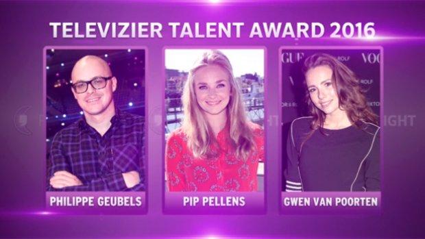 Pip, Philippe en Gwen in strijd Talent Award