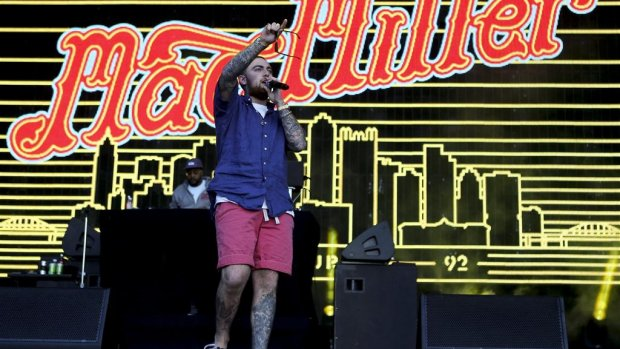 Mac Miller en Gucci Mane op Woo Hah!