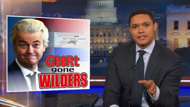 The Daily Show maakt Geert Wilders weer belachelijk