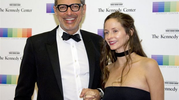Jeff Goldblum verwelkomt zoontje River Joe