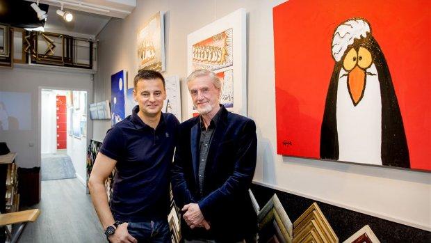 Wilfred Genee opent expositie Toon van Driel