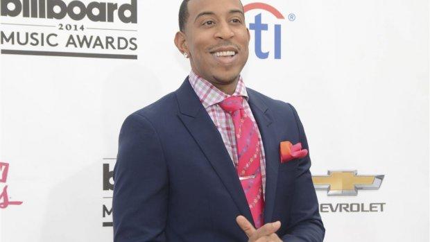Ludacris op podium met Vanessa Hudgens