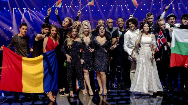 Foto's: Deze tien landen maken de songfestivalfinale compleet