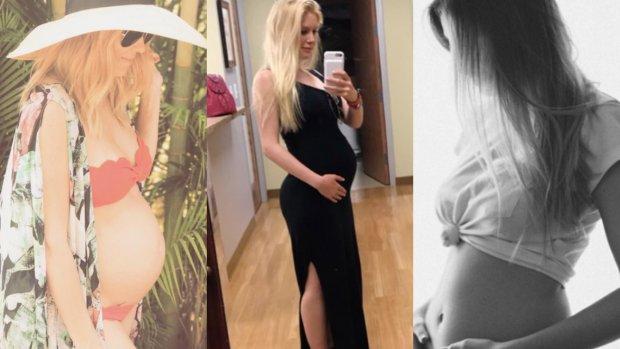 Foto's: Drie The Hills-sterren tegelijk zwanger