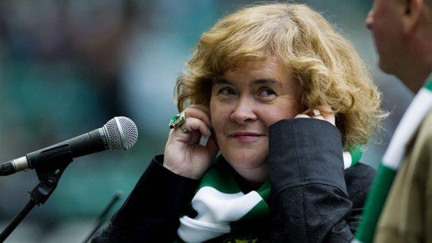 Susan Boyle geterroriseerd door groep tieners