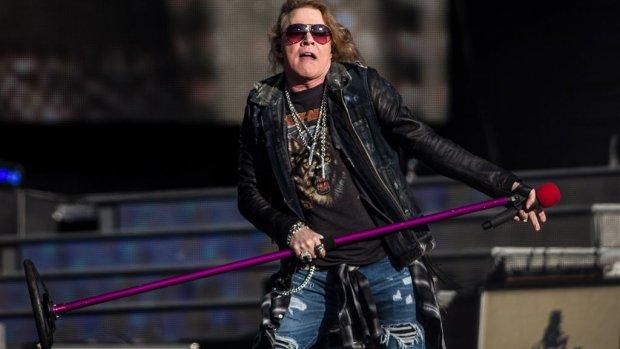 Guns N' Roses sluit Europese tournee af