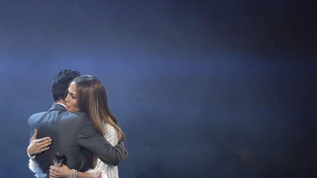 Jennifer Lopez steunt ex Marc Anthony  Entertainment