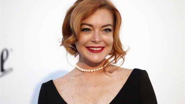 Lindsay Lohan neemt het op voor Weinstein