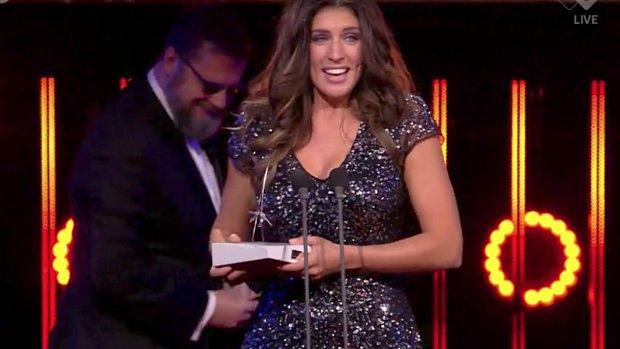Marieke Elsinga wint Televizier-Ring Talent Award