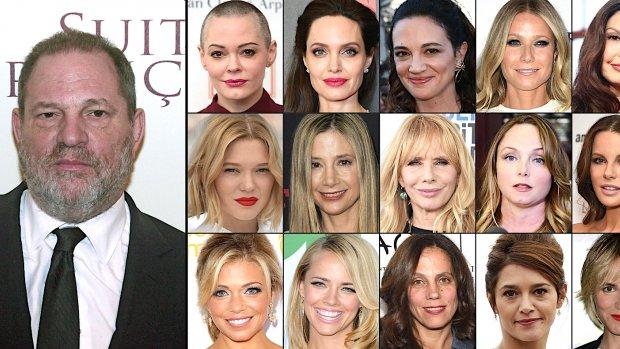Affaire-Weinstein haalt oude wonden open, sterren twitteren over seksueel geweld