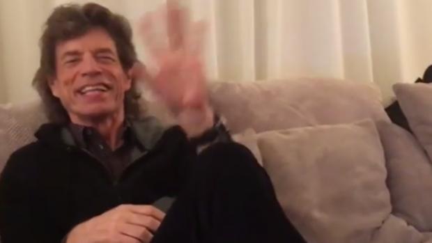 Mick Jagger zingt Frans Bauer: 'Heb je even voor mij!'