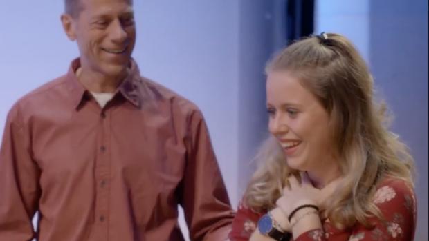 Chantal Janzen verrast Kim met een bijzondere verjaardag
