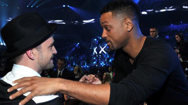 Justin Timberlake geeft Will Smith een lesje Instagram