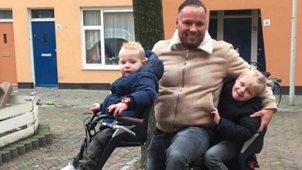 Michael van der Plas en kinderen beginnen aan nieuw leven